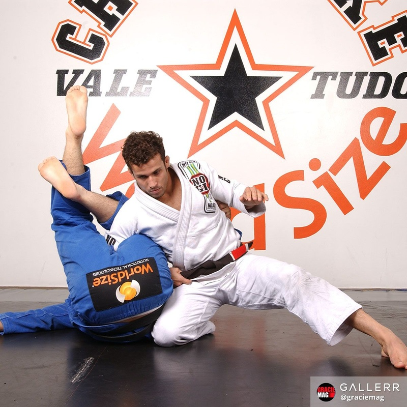 Omoplata counter with Cristiano Marcello