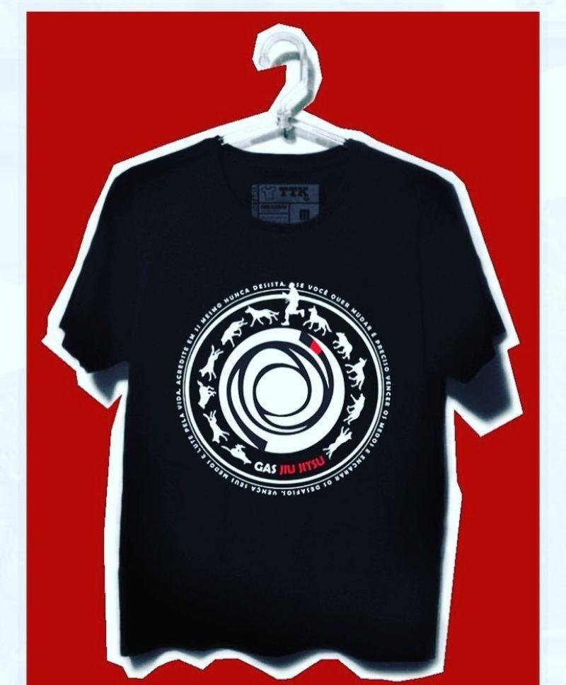 GAS BJJ TSHIRT Novas camisas com novas estampas - Garra e Honra New shirts with new prints - Claw and Honor