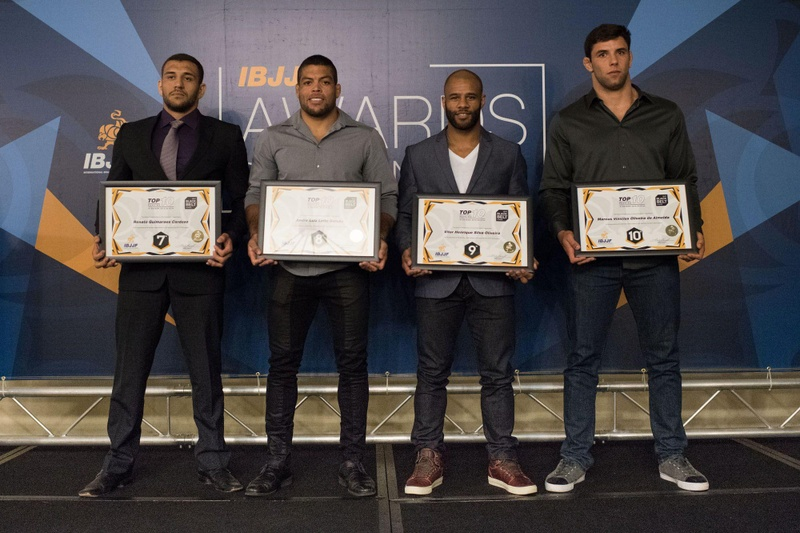 Checkmat honored at IBJJF Awards Ceremony 2016