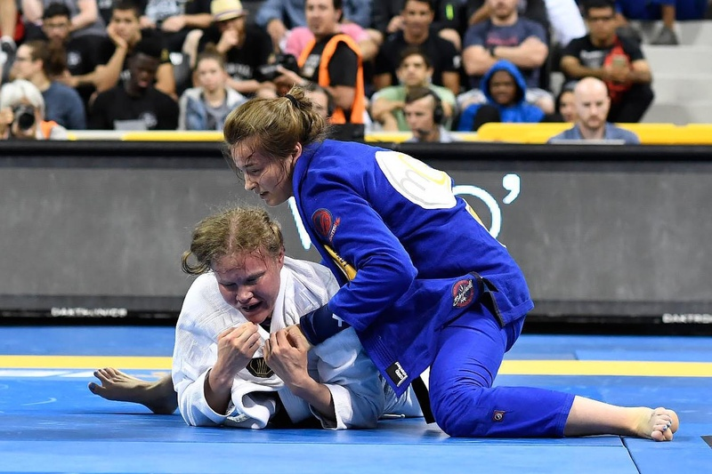 BJJ Worlds 2016: Dominyka Obelenyte vs. Venla Luukkonenn