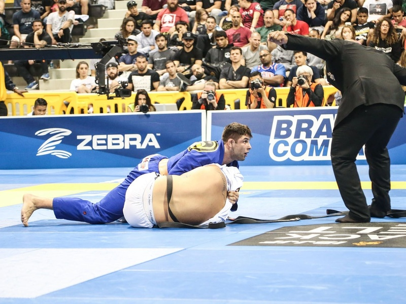 Buchecha won his fifth ultra-heavy title as he submitted Gustavo Dias