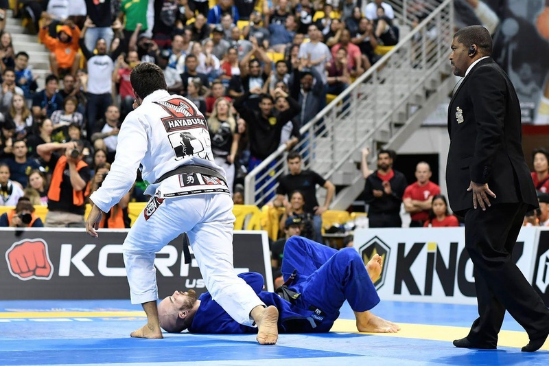 BJJ Worlds 2016: Marcus Buchecha vs. James Puopolo