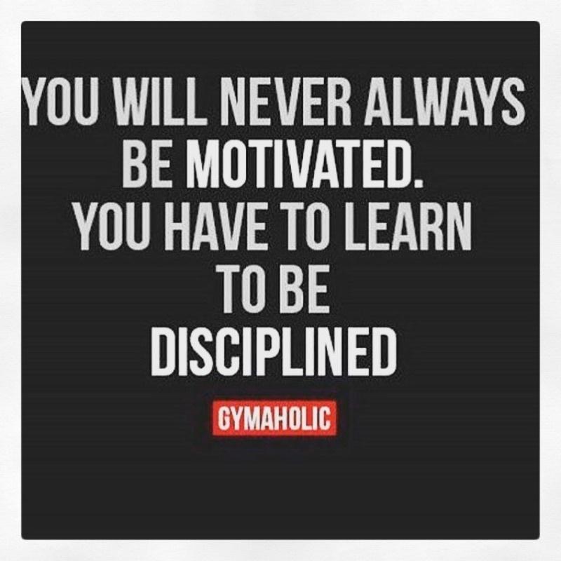Aprenda a ser disciplinado 👊🏼