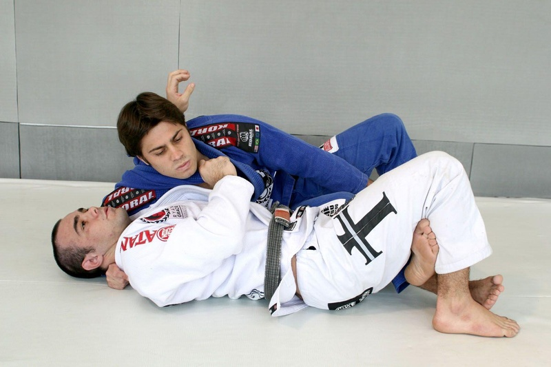 Celsinho Venicius teaches a half-guard choke with switched base