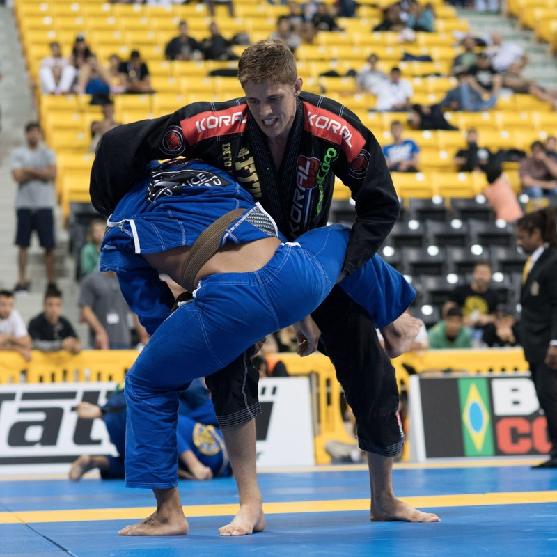 BJJ Worlds 2016: The Amazing Nicholas Meregali