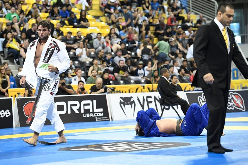 Thrilling match: Marcus Buchecha vs. João Gabriel Rocha at the BJJ Worlds 2016