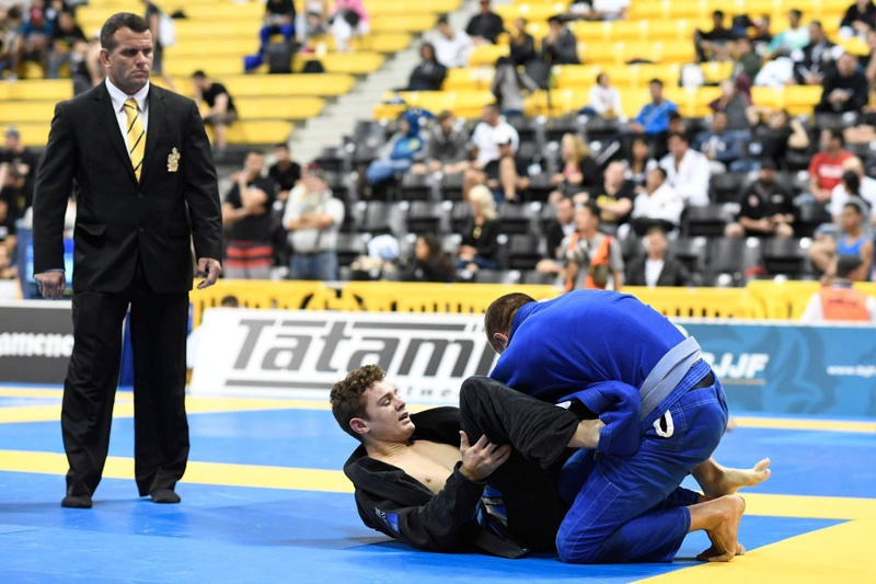 2016 BJJ Worlds: blue belts in action