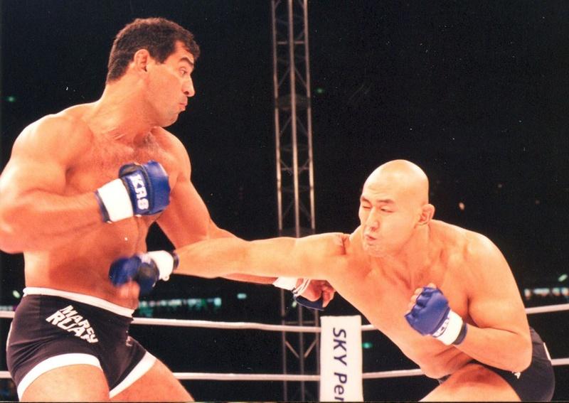 Depois de dominar Otsuka no primeiro round, Ruas acabou surpreendido pelo japonês