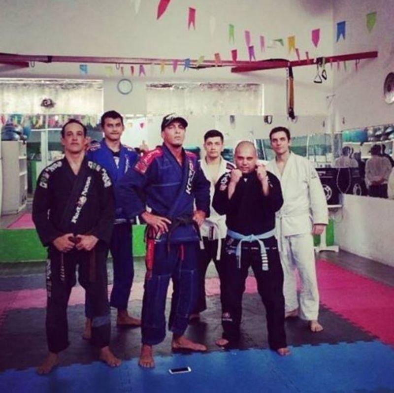 Equipe GFteam Mestre Richard Flood