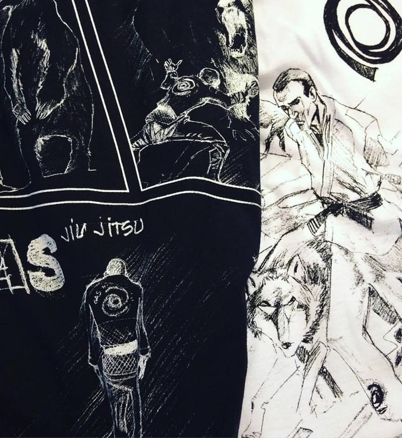 GAS BJJ and TTKRIO clothing