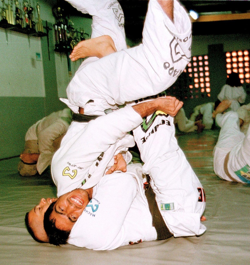 1998... O segredo do sucesso do Jiu-Jitsu em Manaus