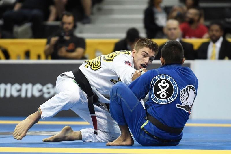 BJJ Worlds 2016: Gianni Grippo vs. Hiago George Santos Silva