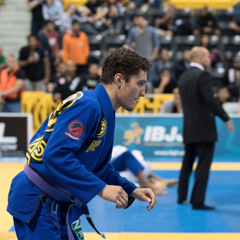 "Joao Pedro Mendes ""Bisnaga"" makes his way to the Brazilian Jiu-Jitsu world championship title"