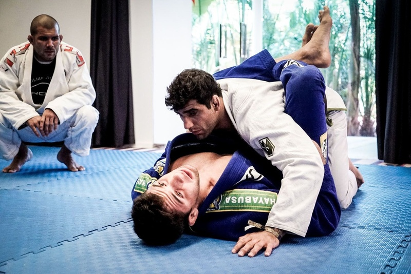 Brazilian Jiu-Jitsu camp: Rodolfo Vieira, Marcus Buchecha and Leandro Lo in Ibiza