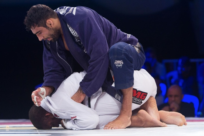 BJJ Copa Pódio: Leandro Lo and Serginho Moraes in a battle in 2015