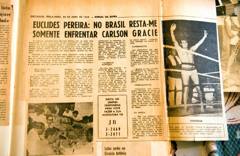 """I challenged Carlson because he was the toughest fighter there was, Brazil's greatest champion."" – Euclides Pereira"