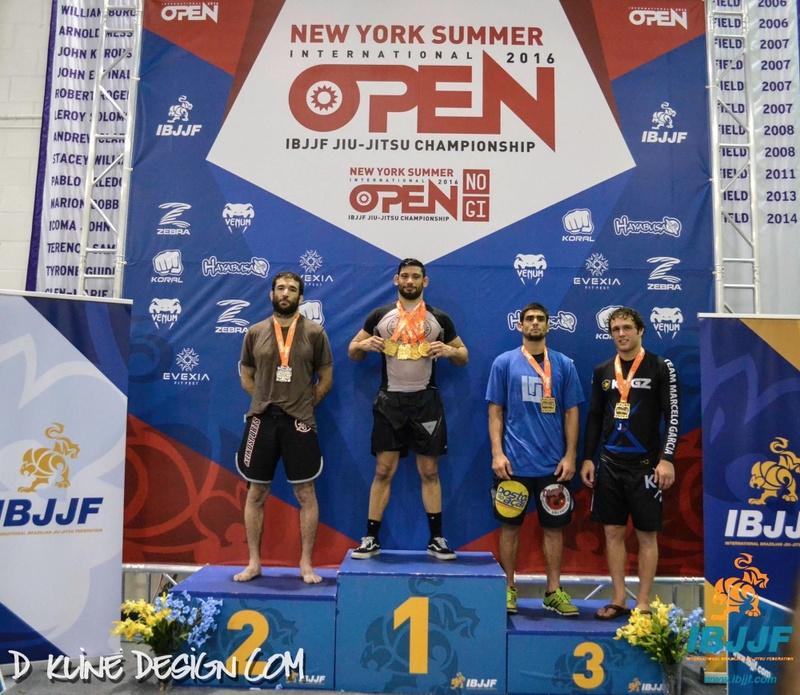 2016 NY Summer No Gi Jiu-Jitsu: Matheus Diniz vs. Murilo Santana at absolute final