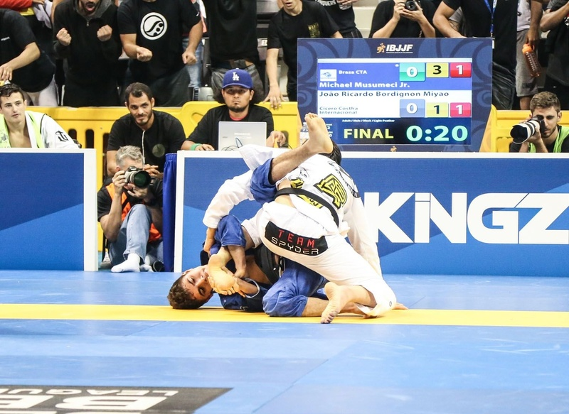 Musumeci ended a ten-year fast by the U.S. as he beat João Miyao in the light-feather final