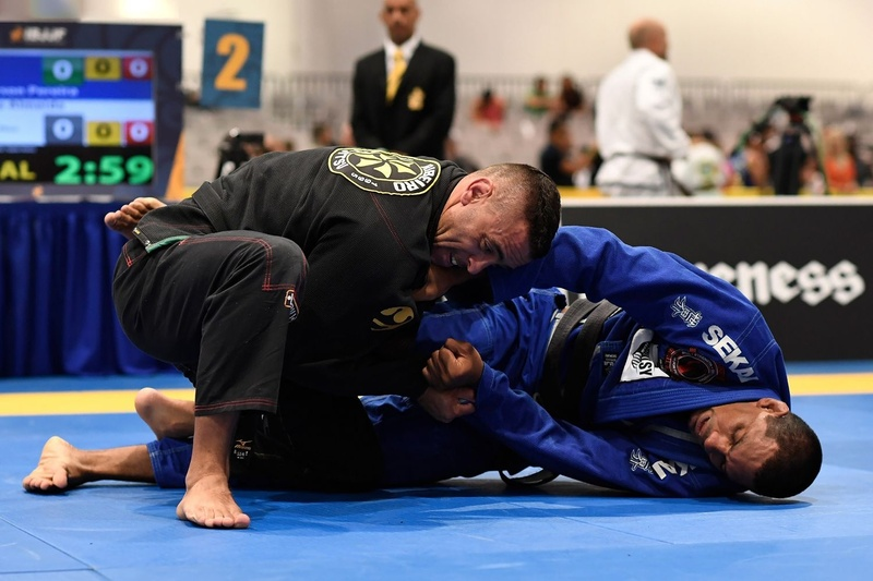 BJJ World Master 2016: Tiago Pereira vs Lincoln Jeferson