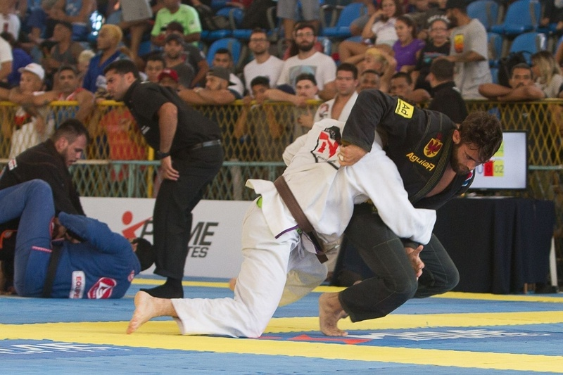 Brazil Teams' National 2016: Lightweight final match Gracie Barra vs. Nova União