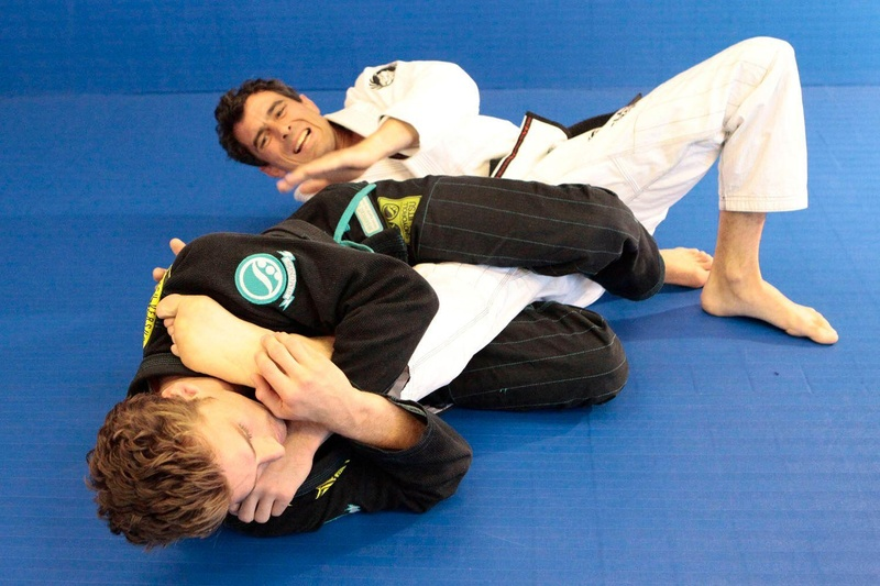 Clark Gracie teaches a way to attack leg lock from the lasso guard