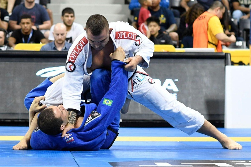 BJJ Worlds 2016: Leo Nogueira vs. Alex Ceconi