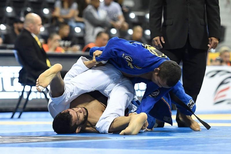 BJJ Worlds 2016: Ivaniel Cavalcante vs José Thiago Barros