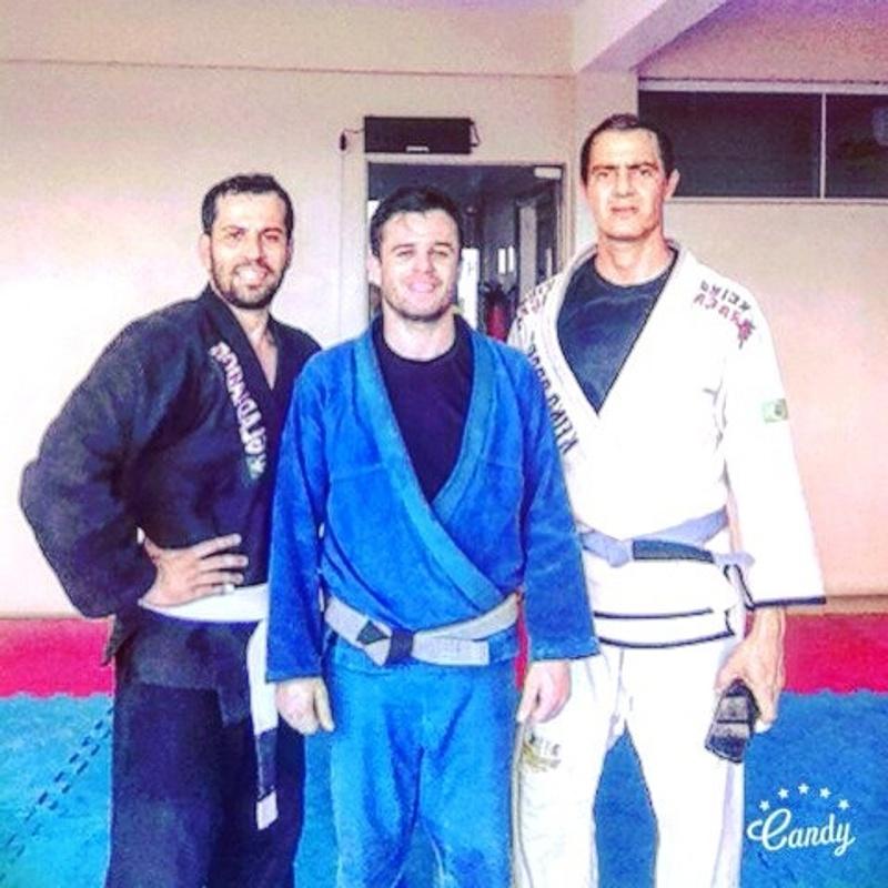 Rebelião Jiu Jitsu(Mandelli, Tody e Eu)
