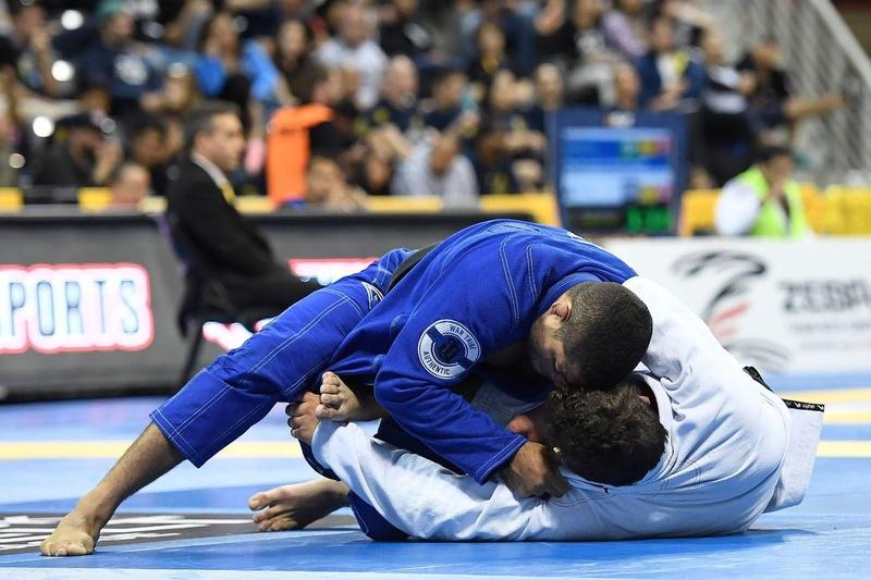 BJJ Worlds 2016: André Galvão vs. Lucas Rocha