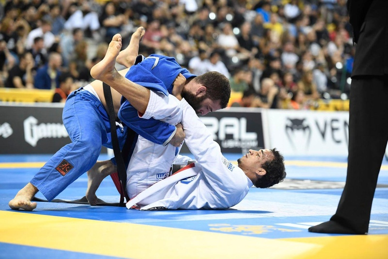 BJJ Worlds 2016: Rômulo Barral vs. Murilo Santana