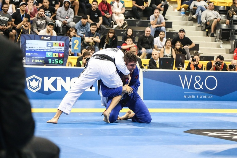 In the open division, Buchecha also won a fifth gold medal, by beating Leandro Lo