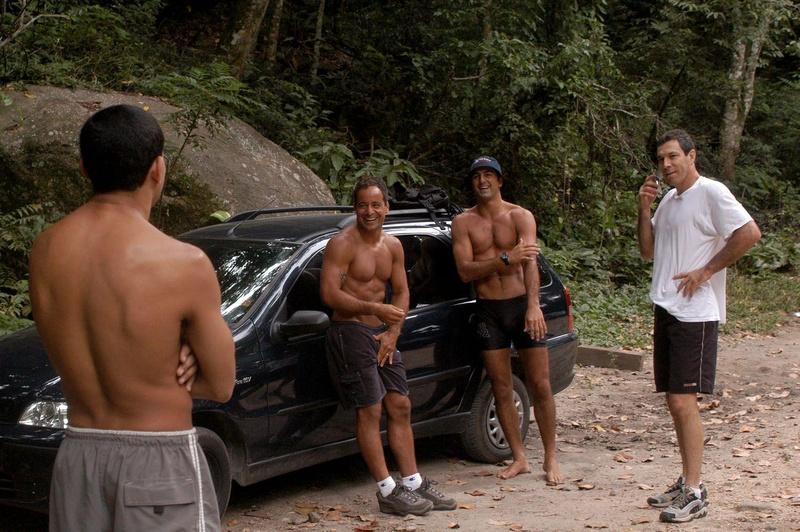 A tradicional subida da Pedra da Gávea com Carlos Gracie Jr. e Royler Gracie