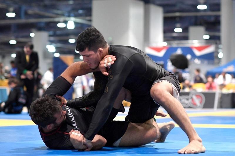 Brazilian Jiu-Jitsu US Nationals 2016: Lucas Barbosa vs. Eliot Kelly