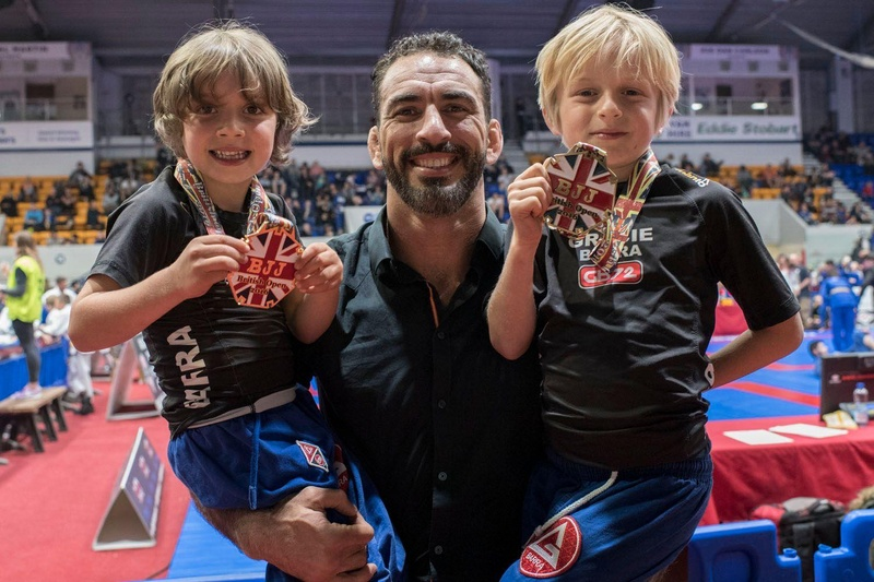 Having fun at the 2016 BJJ British Open first day