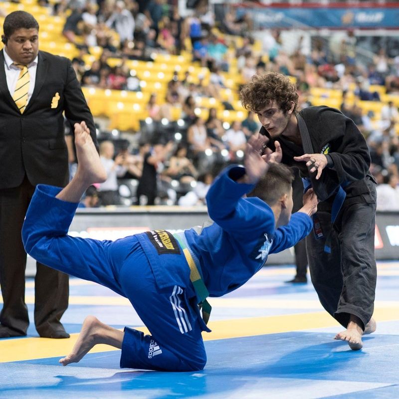 2016 Brazilian Jiu-Jitsu Worlds: blue belt rooster, feather and superheavy champions