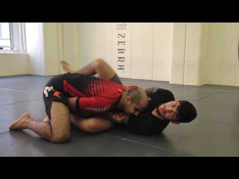 Brazilian Jiu-Jitsu lesson: Dillon Danis teaches triangle from Z-guard
