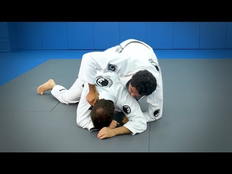 "A shortcut to the back starting from the half-guard - Rafael ""Sapo"" Natal"