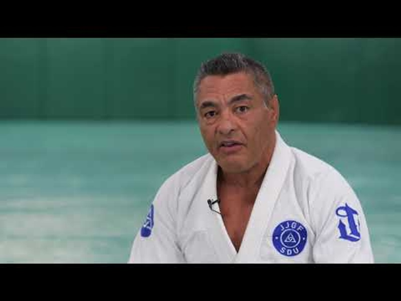 Rickson Gracie talks about developing leverage