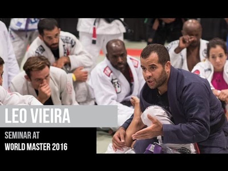 Leo Vieira full BJJ seminar at World Master 2016