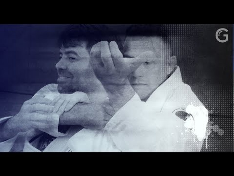 Renzo Gracie teaches an ezequiel from the back