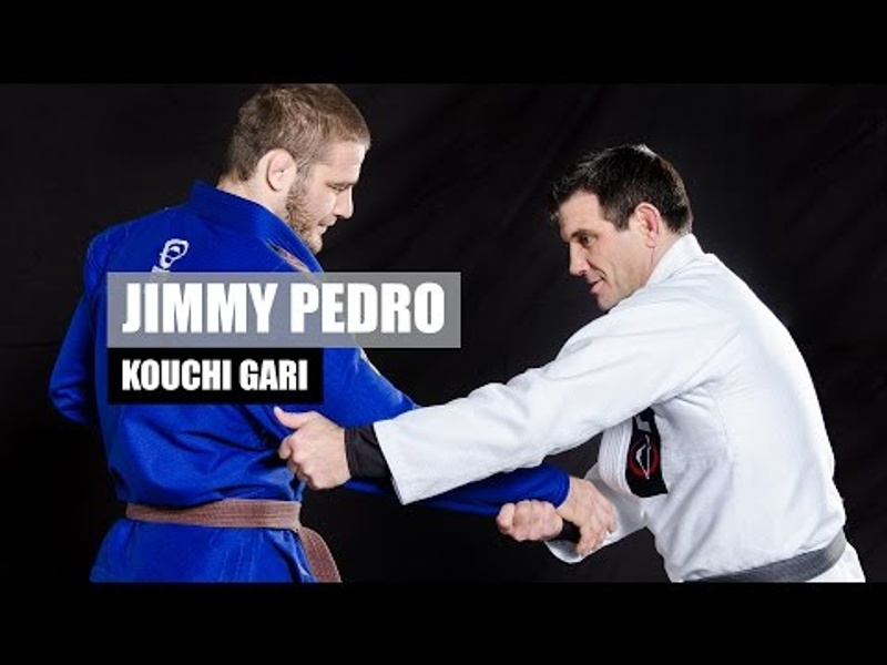 Travis Stevens' judo coach Jimmy Pedro teaches how to apply the kouchi gari