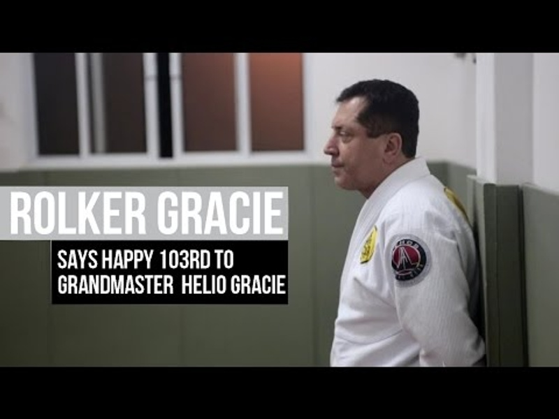 BJJ icon Helio Gracie birthday celebrated