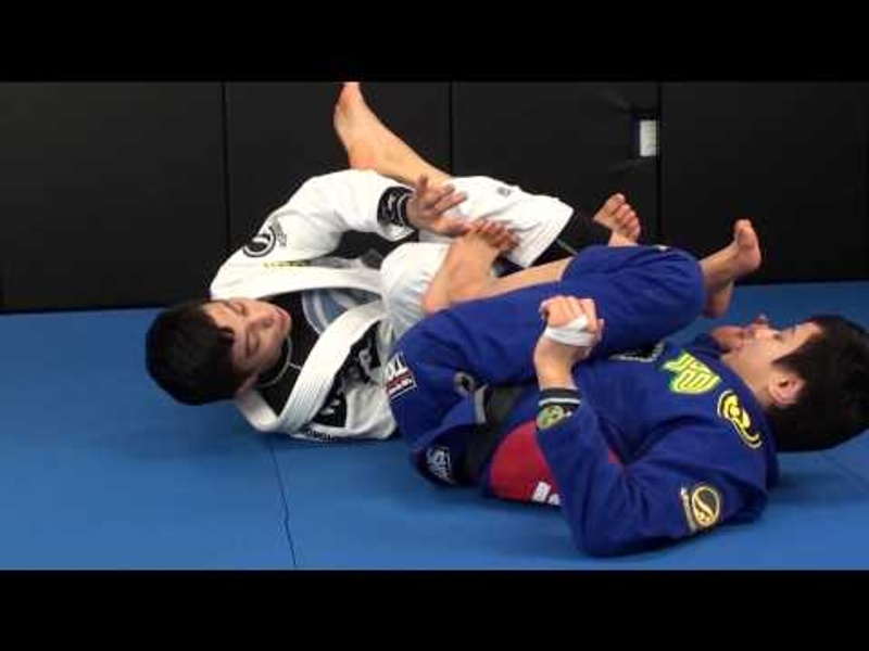 Miyao brothers show how to gain the mount in BJJ starting from the berimbolo