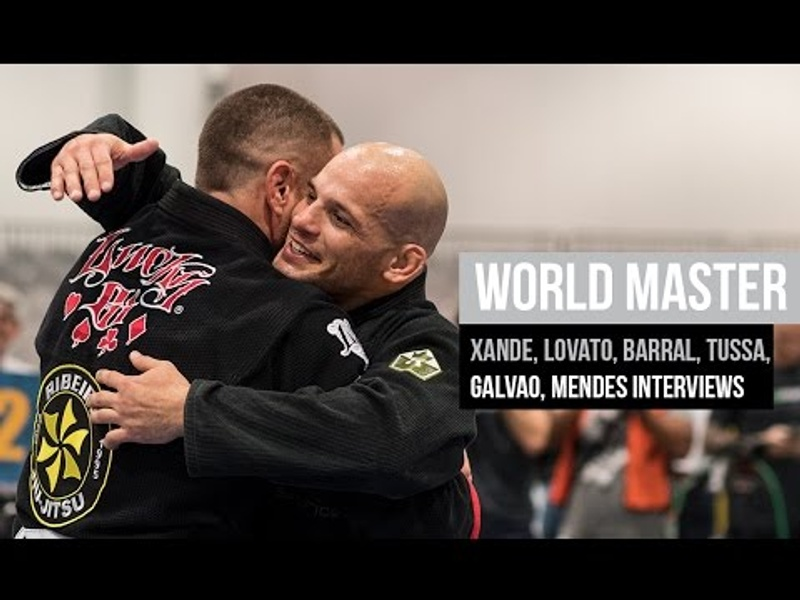 Brazilian Jiu-Jitsu legends interviewed during the World Master 2016
