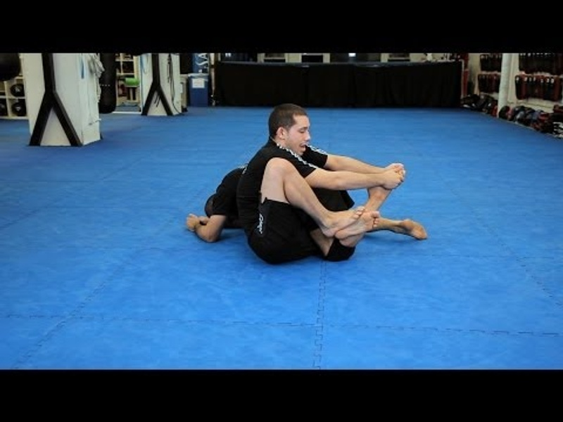 Calf Slicer from Leg Drag position