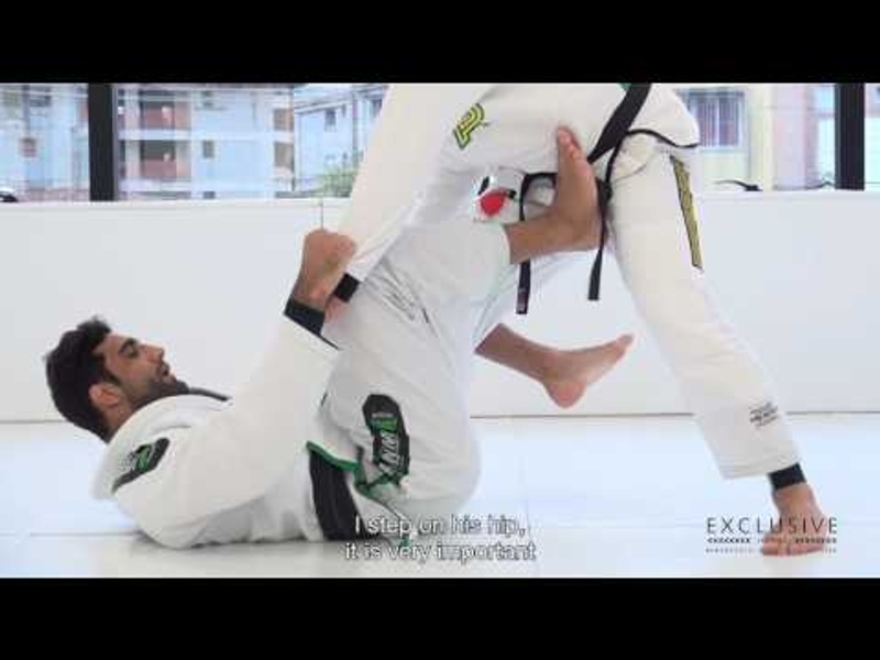 BJJ: Leandro Lo teaches a sweep from open guard