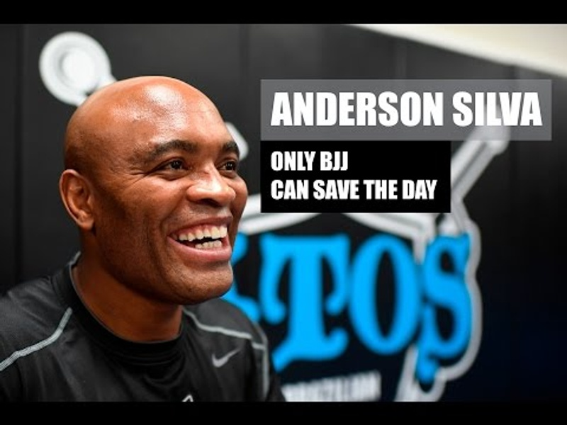 UFC legend Anderson Silva's message to the BJJ community