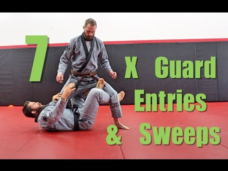 BJJ: 7 drills to learn how to sink the X-guard and sweep