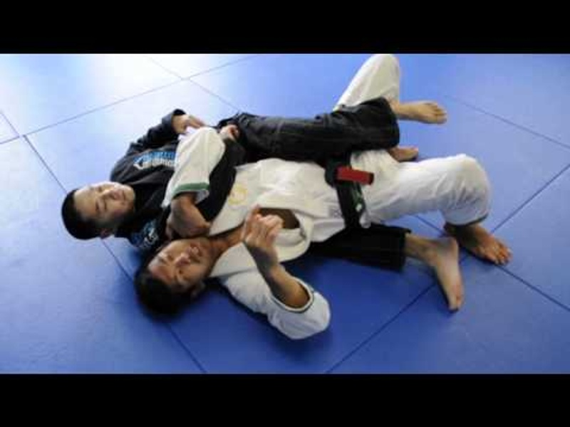 BJJ: Learn 3 ways of escaping the back-take and finishing on the arm triangle