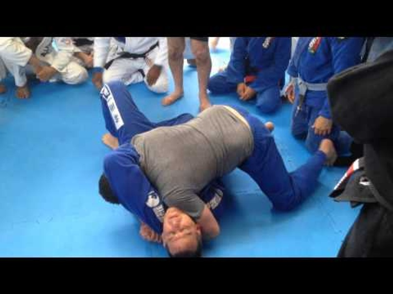 Renzo Gracie mostra detalhe mágico no Jiu-Jitsu